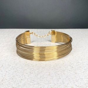 J'adore Dior Vintage 1992 Stacked Gold Choker